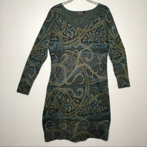 Peruvian Connection Kashmiri Pima Cotton Dress